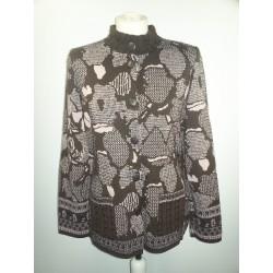 Veste tricot Jacquard Telmail