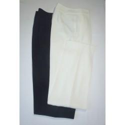 Pantalon enduit indigo