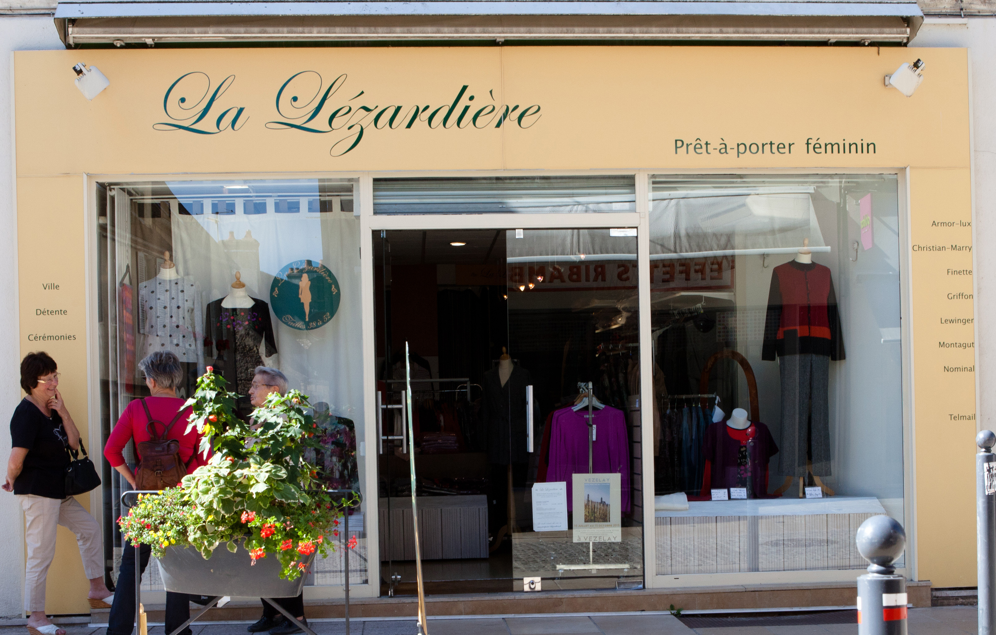 La boutique de centre ville